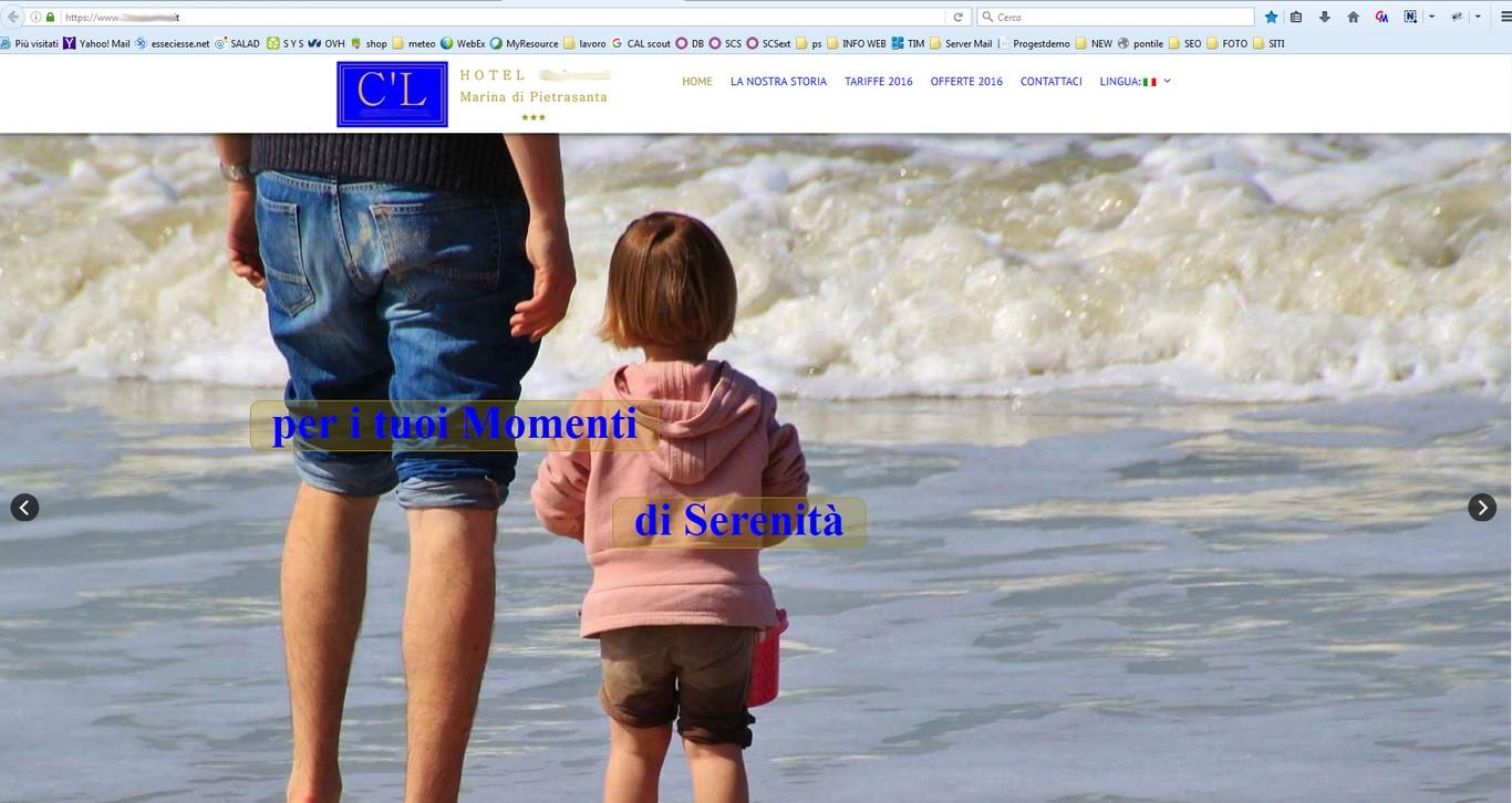 sito web emozionale