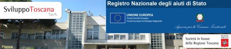 integrazione portale sviluppo toscana registro nazionale aiuti