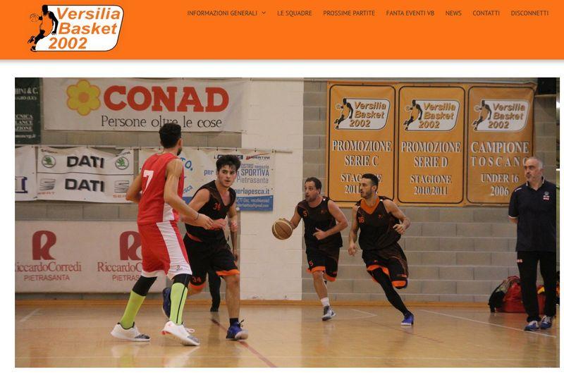 Sito web per società sportiva