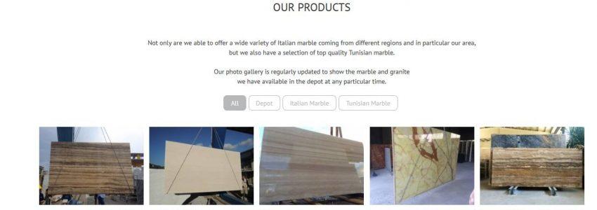 scs web factory sito di presentazione azieda
