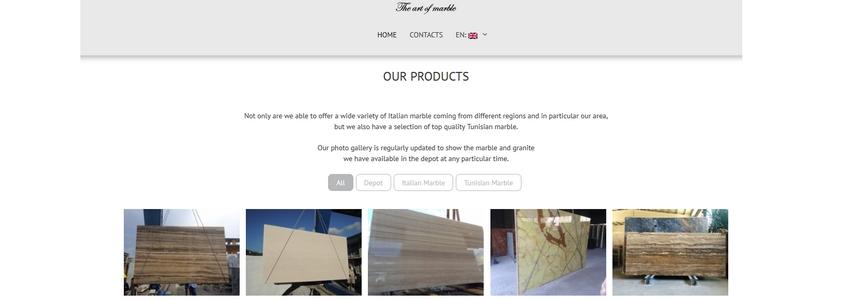 scs web factory sito di presentazione azieda intro