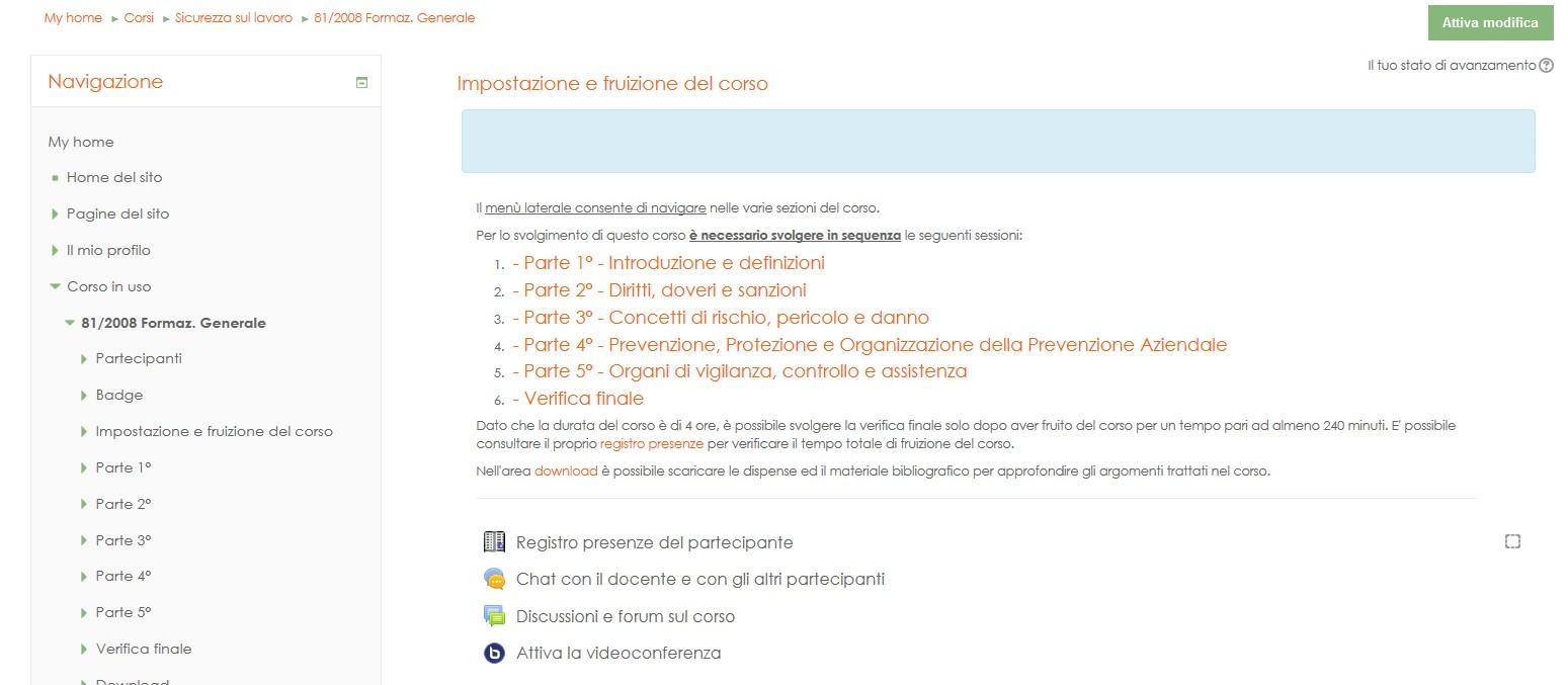 portale di e-learning